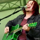 Shaun Morgan Welgemoed (Seether) at Kirstenbosch Gardens