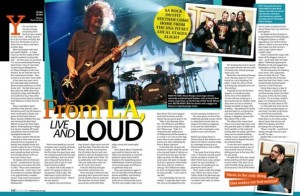 Two page article on Seether