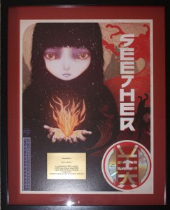 Seether Gold Award