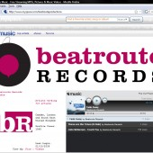 Beatroute Records Myspace Page