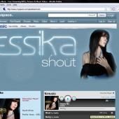 Jessika Myspace Page