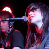 Mike Dignam, Gabrielle Aplin and John McKeown live at the Camden Barfly