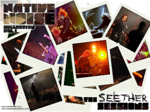 Download a free Seether Screensaver from The Native Noise Collection