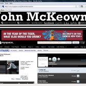 John McKeown Myspace Layout