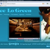 Cee Lo Green Myspace layout