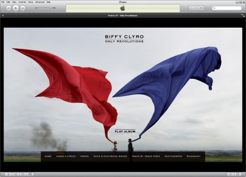 Biffy Clyro iTunes LP - Home