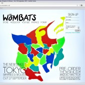 The Wombats Holding Page