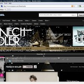 Fenech-Soler Myspace Layout Upgrade