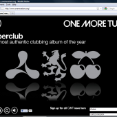 One More Tune microsite