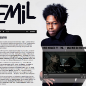 Emil Holding Page & Promo Pages