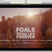 Foals Total Life Forever iTunes LP