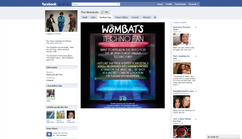 The Wombats Like to Enter Competition