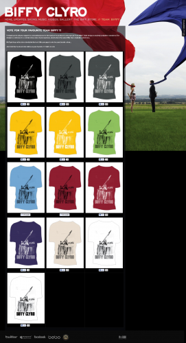 The Exclusive Team Biffy T-Shirts 3