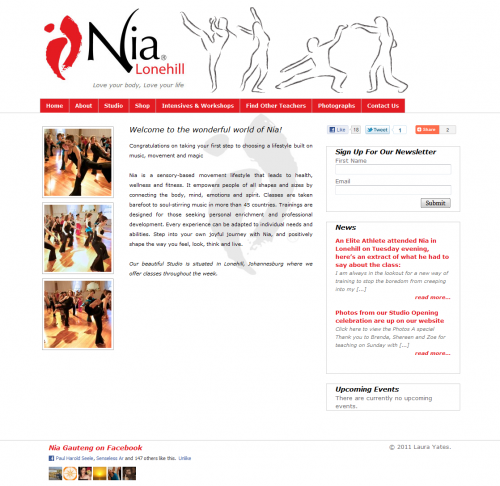 Nia Lonehill Home Page
