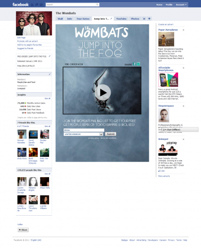 TheWombats-Fog-Video-Tab