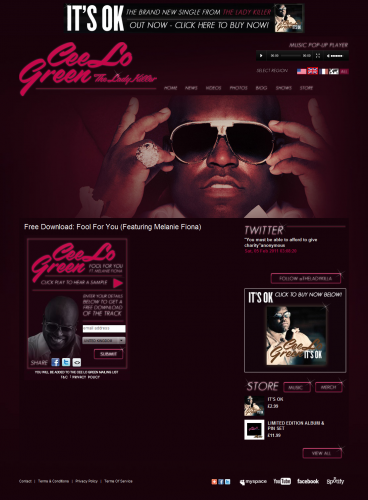 Cee Lo Green Free Download Widget