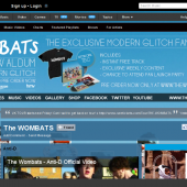 The Wombats Myspace Layout Reskin