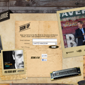 Hugh Laurie Holding Page
