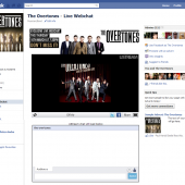 The Overtones UStream Facebook tab