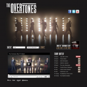 The Overtones Holding Page