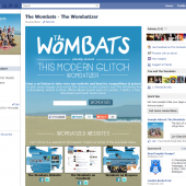 The Wombats Wombatizer Facebook Tab