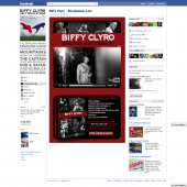 Biffy Clyro 'Revolutions // Live at Wembley' Facebook Tab