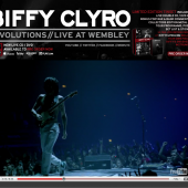 Biffy Clyro Myspace Layout