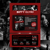 Biffy Clyro 'Revolutions // Live at Wembley' Splash Page
