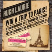 Hugh Laurie live in Paris competition widget