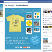The Wombats Boxset Facebook Tab