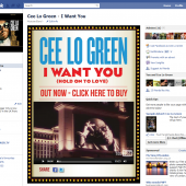 Cee Lo Green 'I Want You (Hold On To Love)' Facebook Tab
