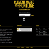 Clement Marfo & The Frontline Holding Page