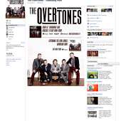 The Overtones Gambling Man Facebook Tab