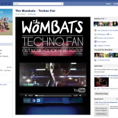 The Wombats Techno Fan Facebook Tab