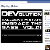 DEVolution Mixtape Facebook Tab