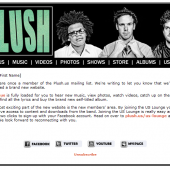 Plush Email Template and Mailing List