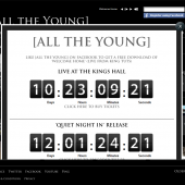 All The Young Countdown Lightbox & Facebook Tab