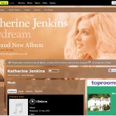 Katherine Jenkins Myspace Layout Reskin