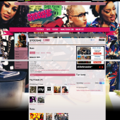 StooShe Myspace Layout