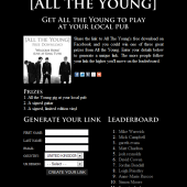 All The Young Link Sharing Competition