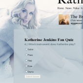 Katherine Jenkins Fan Quizzes
