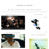 Lianne La Havas Holding Page & Tumblr theme