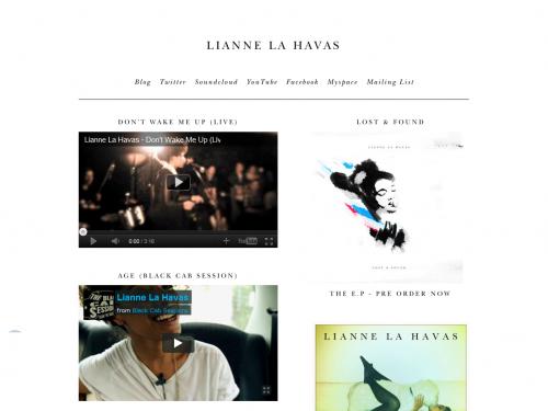 Lianne La Havas Holding Page 01