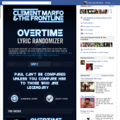 Overtime Lyric Randomizer by Clement Marfo & The Frontline