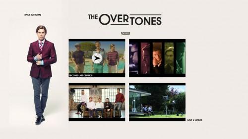 Overtones iTunes LP Videos