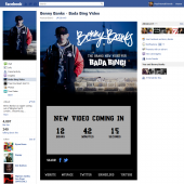 Benny Banks Countdown Facebook Tab