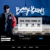 Benny Banks Countdown Holding Page