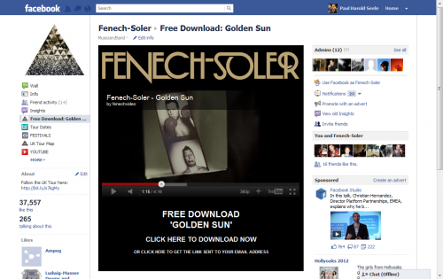 Fenech-Soler Golden Sun Free Download