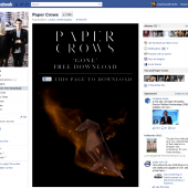 Paper Crows Like to Download Facebook tab