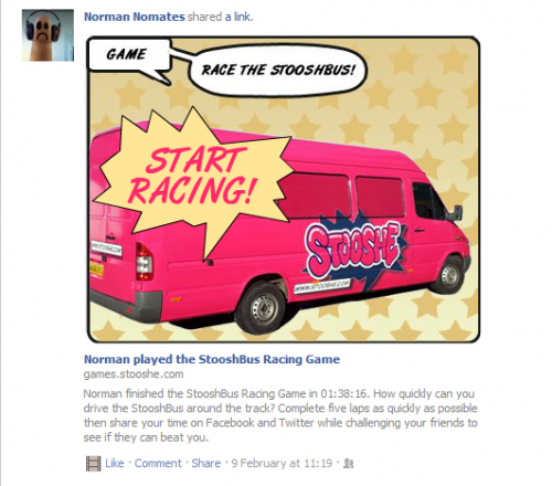 Stooshe Games StooshBus Racing Facebook Play